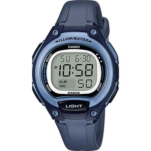 762cb470461c Reloj Casio Dama Digital Alarma Crono Luz Modelo Lw-203-2av ...
