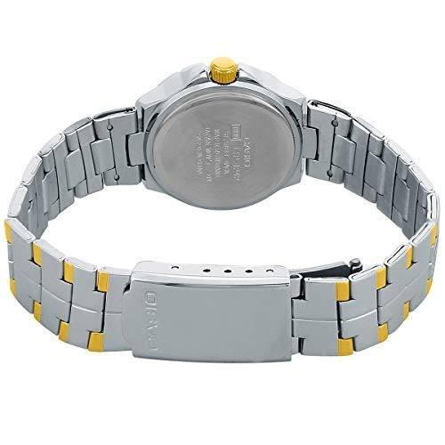 reloj casio dama ltp-1242sg analogo en acero 100% original!