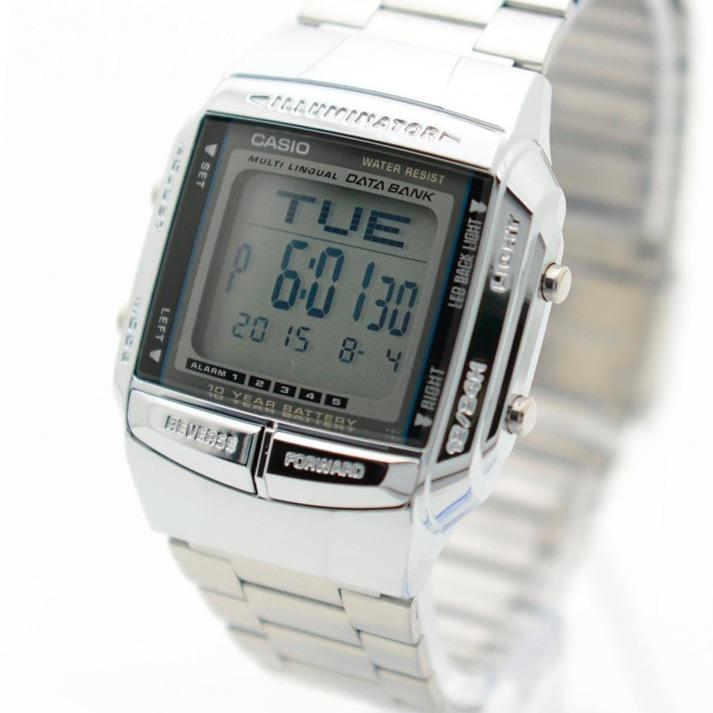 9627e8b84870 Reloj Casio Db-360 Databank Pila 10 Años Vintage Wr Alarma -   2.850 ...