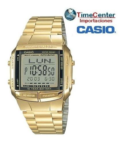 reloj casio db-360g-9a, 5 alarmas,memorias,cronometro,timer