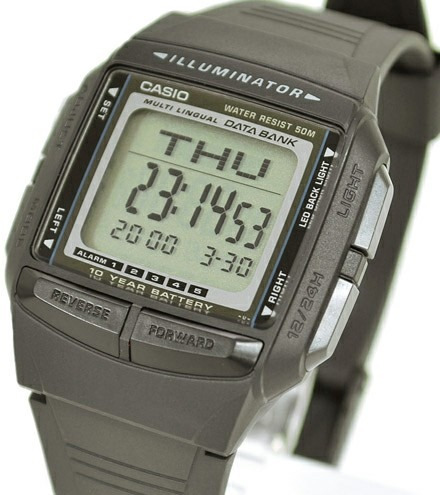 d9629c96243f Reloj Casio Db36-1avef Cronómetro 5 Alarmas Iluminator . -   90.000 ...