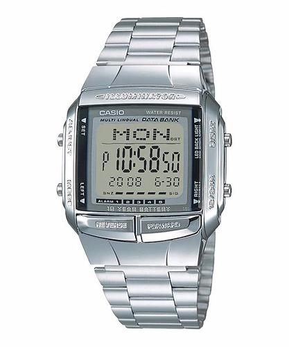 reloj casio db360 databank acero unisex original envío hoy