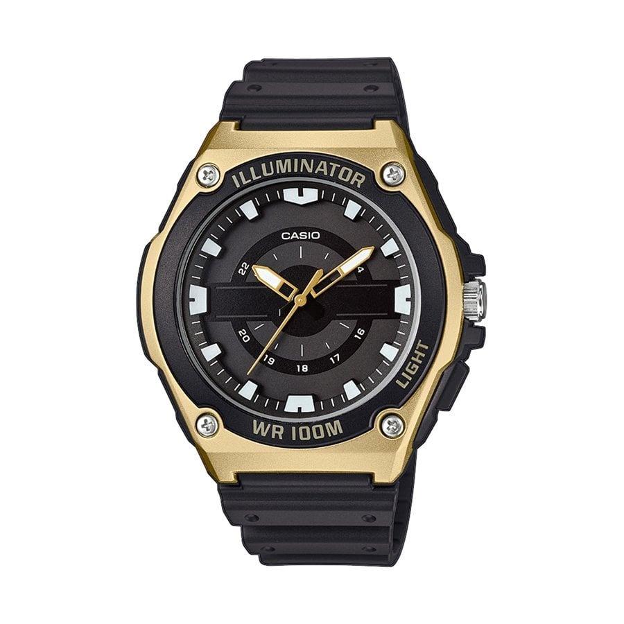 Negro OriginalCombinado Casio De Reloj Hombre Y En Dorado f6Y7gvbIym