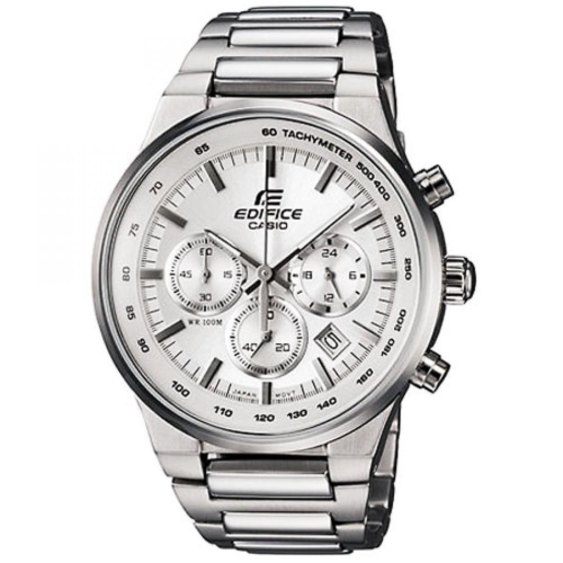 604592ffea21 reloj casio de la línea edifice modelo ef500 caratula blanca. Cargando zoom.