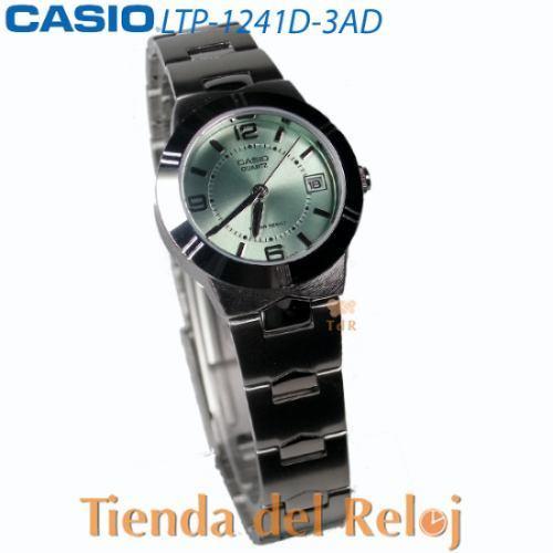 reloj casio de mujer ltp-1241 1 año de garantia,originales