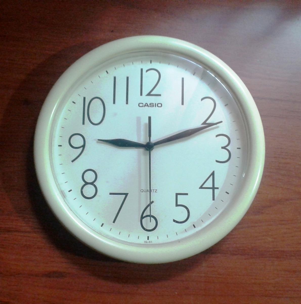 Reloj Casio Original Pared Original De De Pared Reloj Reloj Casio IYfgyb76mv