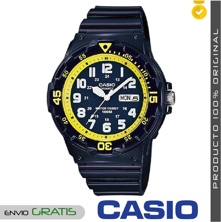 d06e4c5c959e reloj casio deportivo para hombre mrw-200hc original - azul. Cargando zoom.