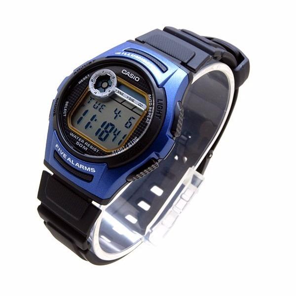 e8b5b07ca2a2 Reloj Casio Digital Alarma Crono Luz Calendario Mod W-213-2a ...