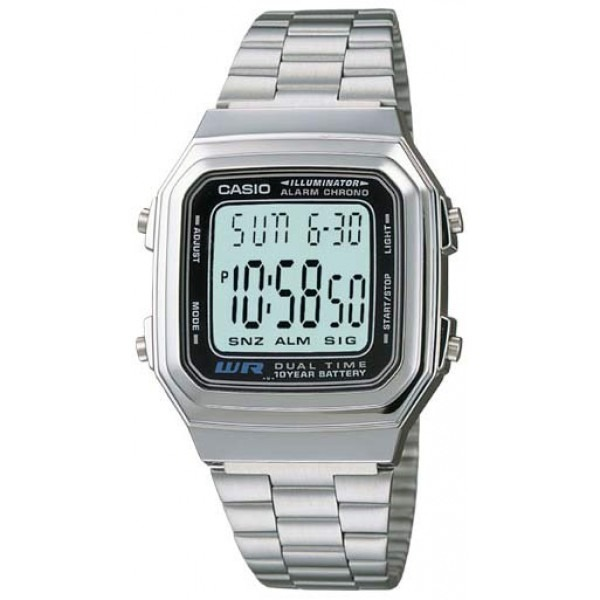 8b696fbac99e Reloj Casio Digital Alarma Crono Luz Dual Time Mod A178wa-1a ...