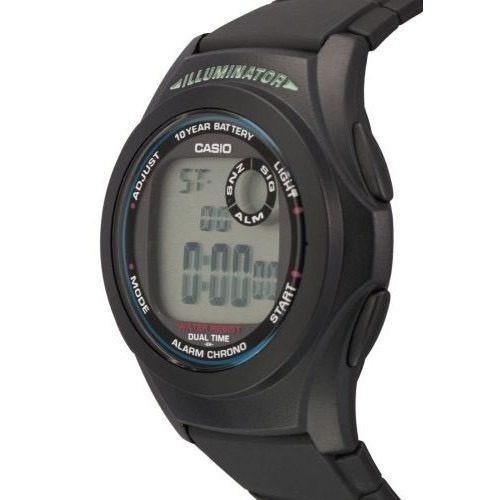 Digital Alarma Luz Casio 200w Reloj Time Dual Crono Mod 1a F CoBQxerdWE