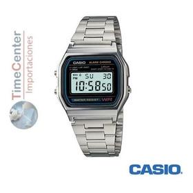 Reloj Casio Digital Alarma Cronometro A158wa-1 Hombre Mujer
