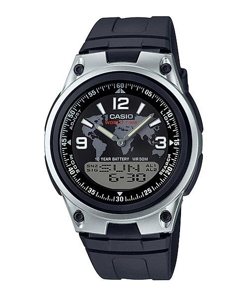 8f31da34bca1 Reloj Casio Digital Aw80 Hombre Correa Negro -   549.00 en Mercado Libre