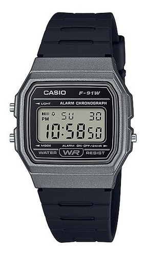 reloj casio digital f-91wm-1