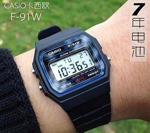 4235e2f85d56 Reloj Casio Digital F91 Unisex 100% Original Watchsalas Full ...