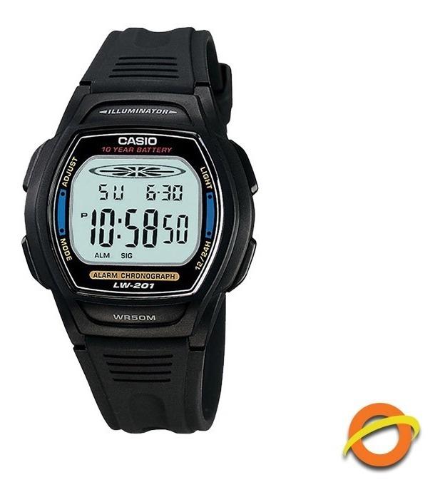 Wr50 Casio Lw 201 Años Digital Sumergible Pila 10 Reloj yv0wmN8On