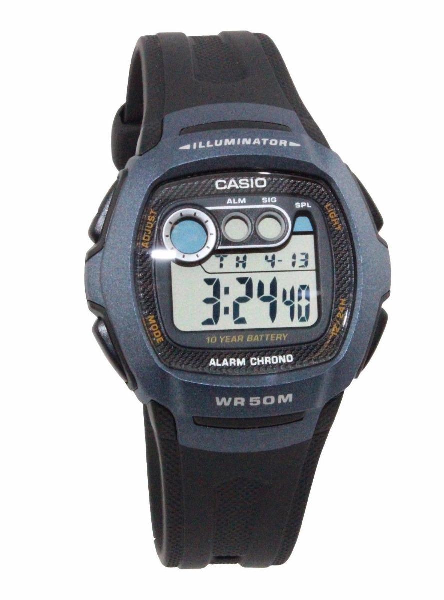 7a99bef0ab9d reloj casio digital w-210-1b oficial garantía envío gratis. Cargando zoom.