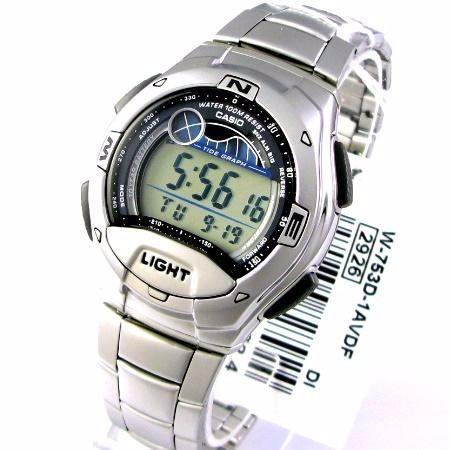 reloj casio digital  w-753d-1avef envio gratis