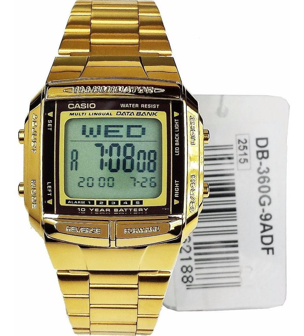 Db Casio 9a Original 360g Dorado Unisex Retro Reloj vm8wPONy0n