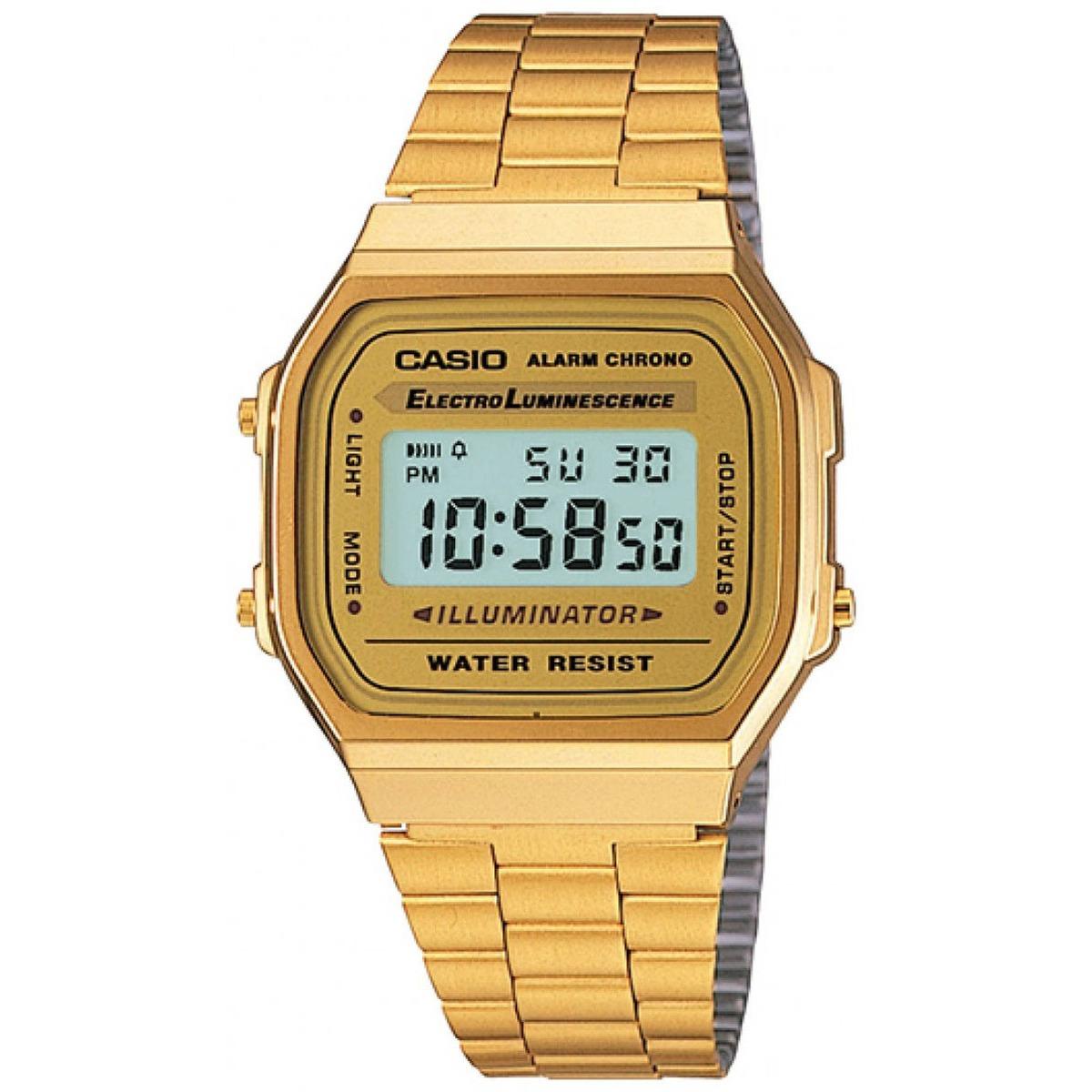 Del Casio Dorado A1 Hombre Acero Inoxidable Reloj Para OTZiPkXu