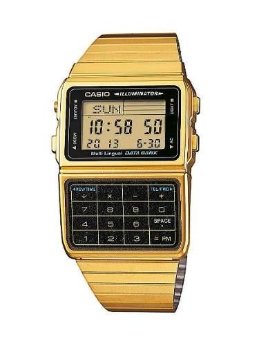 reloj casio dorado masculino