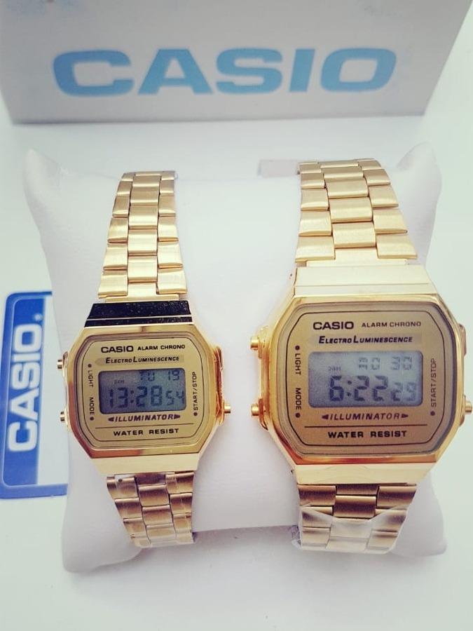 d5f9fe9d2e95 Reloj Casio Dorado Mini Negro Retro Vintage 1572 -   429.00 en ...