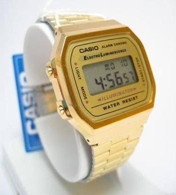 50aec4c89eb8 Reloj Casio Dorado Para Hombre -   500.00 en Mercado Libre