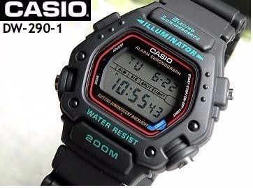 reloj casio dw 290 200mts illuminator para buceo original