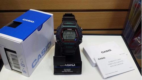 reloj casio dw290 alarma luz temporizador cronometro