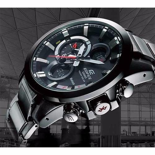 reloj casio ecb-500 bluetooth hombre edifice garantia 2 años