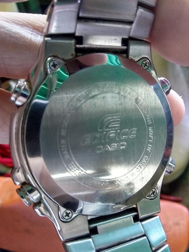 ae4bf1317a92 reloj casio edifice 5165 efa-131 100tru. Cargando zoom.