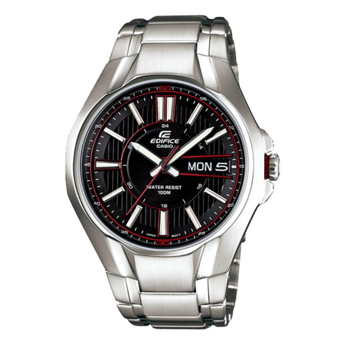 1b142e9b5ae8 Reloj Casio Edifice Analog Digital Ef-133d-1av Negro -   345.810 en ...