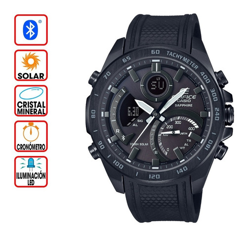 reloj casio edifice bluetooth ecb-900pb-1a
