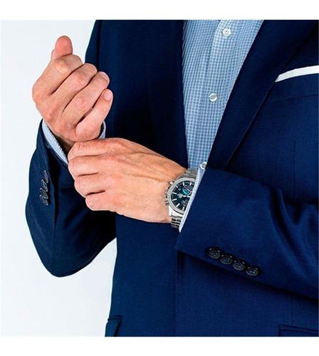 reloj casio edifice bluetooth súper slim  eqb-1000d-1a