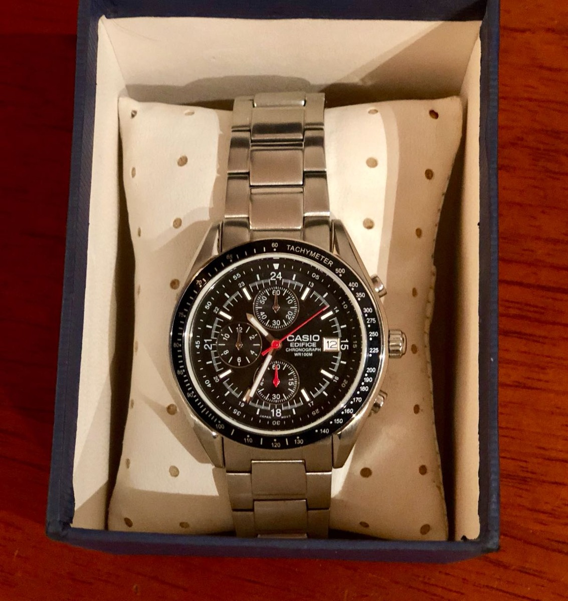 6424017418ea Reloj Casio Edifice Chronograph Wr100m -   300.000 en Mercado Libre