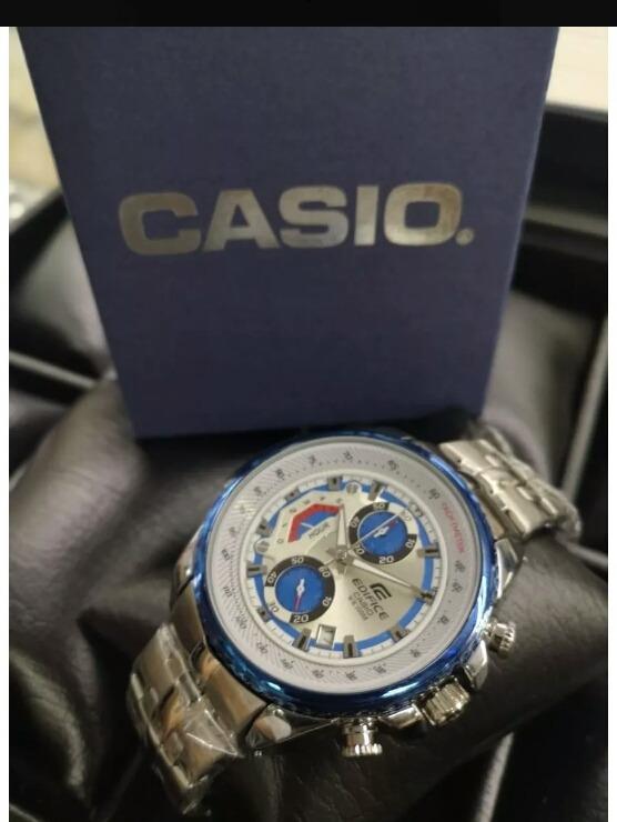 b57e1fdb0868 Reloj Casio Edifice Completamente Funcional En Acero Oferta ...