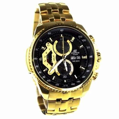 61859d01557a Reloj Casio Edifice Dorado Ef-558fg-1av - Sellado Original - S  329 ...