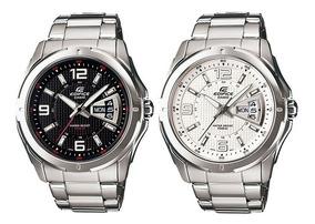 Casio 129d Reloj Fecha Edifice Ef 100Original Hombre K1cTlFJ