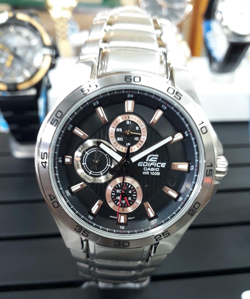 5259f88884e6 reloj casio edifice ef-335d-1a4vdf sumergible. Cargando zoom.