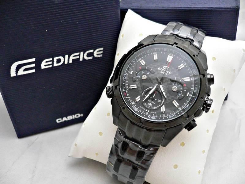089e06eae619 reloj casio edifice ef-535bk-1av - 100% nuevo en caja. Cargando zoom.