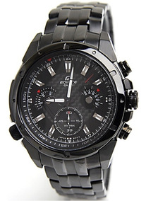 Edifice Reloj 100Nuevo Casio 535bk Ef 1av En Caja DHE29IYW