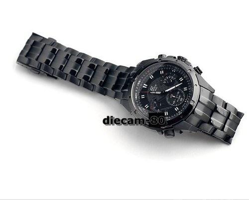 810ec3eb4f07 Reloj Casio Edifice Ef-535bk Cronometro Taquimetro -   7.999