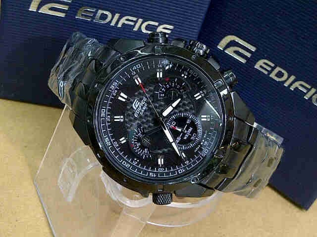 d72950b4e303 Reloj Casio Edifice Ef 535bk - Original Sellado 2018 - S  299