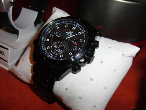 reloj casio edifice ef 535bk - original sellado