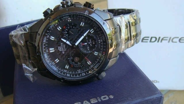 b3847692291a Reloj Casio Edifice Ef 535bk - Original Sellado En Caja - S  299