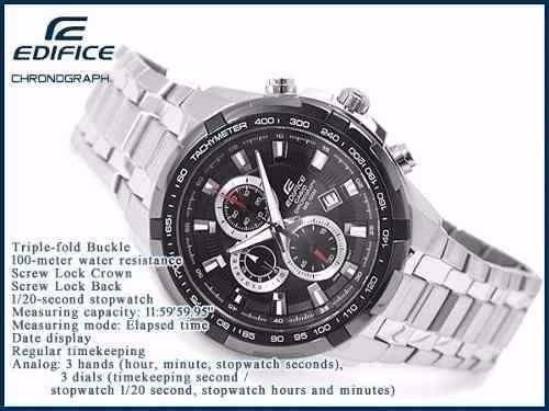 60955762ed49 Reloj Casio Edifice Ef-539d-1a Cronometro Vettel Red Bull -   5.360 ...