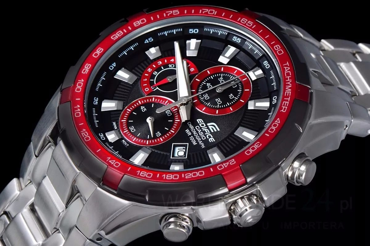 61c43052efbd reloj casio edifice ef-539d-1a4 cronometro vettel red bull. Cargando zoom.