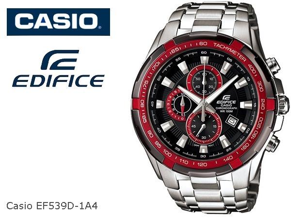 8729f9655924 Reloj Casio Edifice Ef-539d-1a4 Cronometro Vettel Red Bull -   4.199 ...