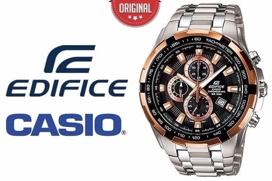 59c3929acc60 Reloj Casio Edifice Ef-539d-1a5 Vettel Red Bull A Pedido! -   8.535 ...