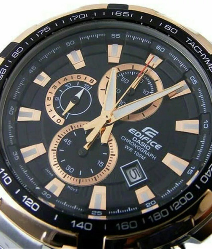 reloj casio edifice ef 539d-1a5v 100% nuevo