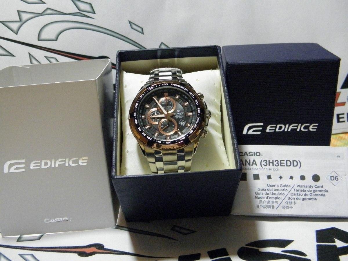 Reloj Casio Edifice Ef 539d 1a5v 100% Nuevo En Caja
